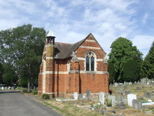Bromley, Cemetery and Chapel, London © Malc McDonald